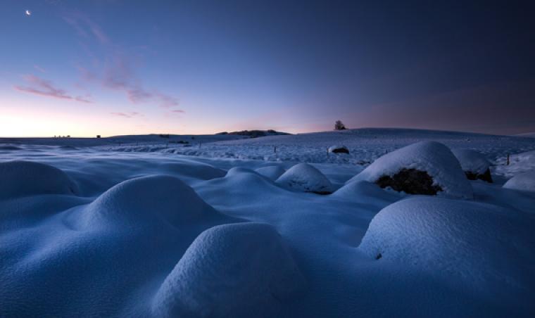 Lozère en hiver