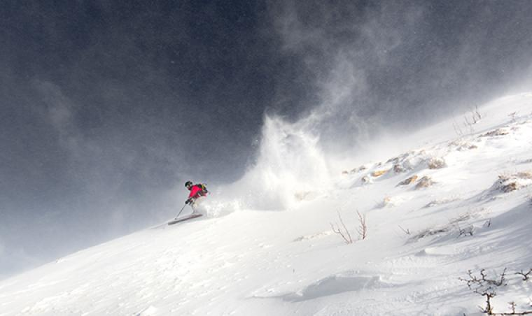 Du ski alpin en Lozère