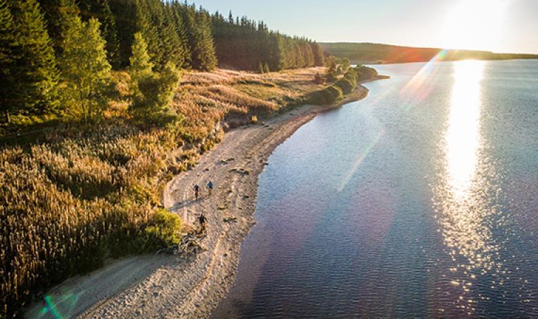 VTT - Lac de Charpal