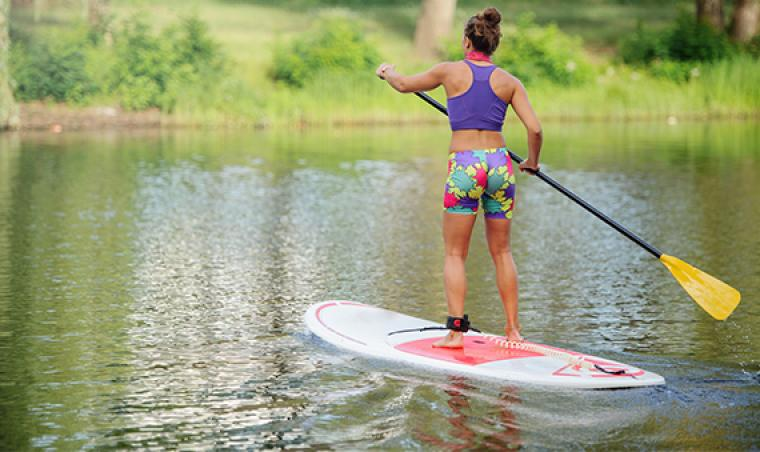 Stand-up paddle en Lozère