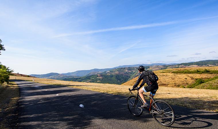 Vélo en Lozère