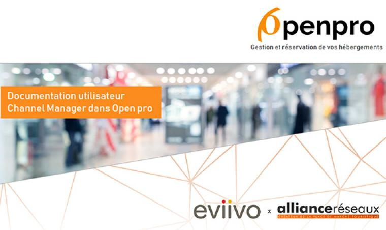Openpro : Eviivo channel manager documentation