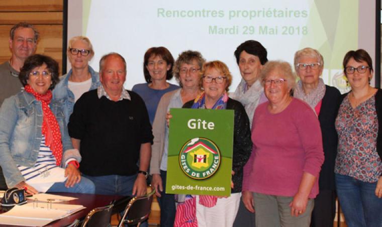 Réunion d'information Gîtes de France