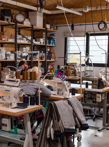 Ateliers de confection des jeans Tuffery