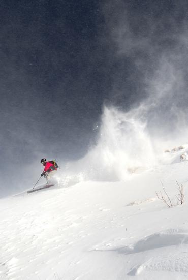 Ski alpin en Lozère