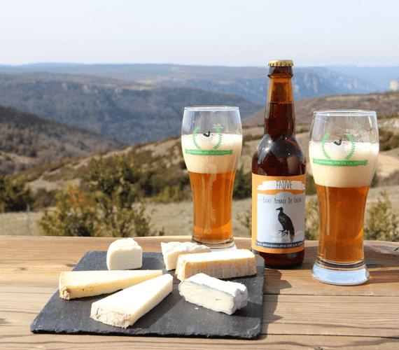 Dégustation de fromages avec vue sur les Gorges de la Jonte