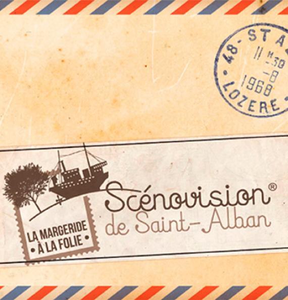 Scénovision de Saint-Alban-sur-Limagnole - Lozère - incontournable