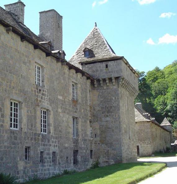Château de la Baume - Lozère - Incontournable