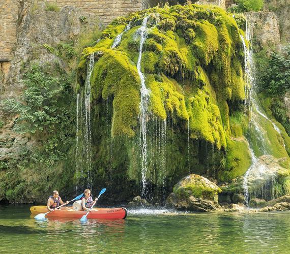 Source de Saint-Chély-du-Tarn en Lozère
