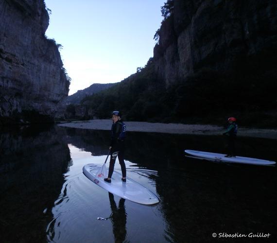 Traversée des Détroits en paddle