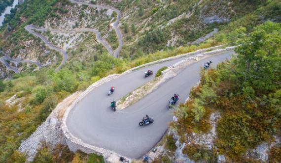 Gorges du Tarn - Circuits moto