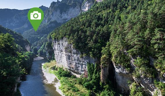Gorges du Tarn - Circuits découverte photo Lozère