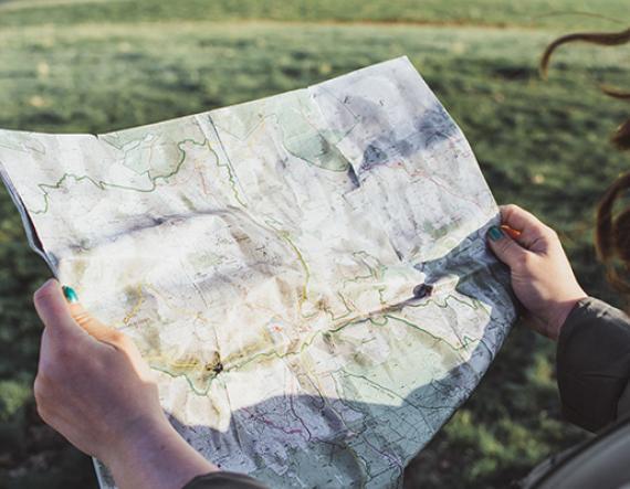 Mont-Lozère - Carte étape - Lozère