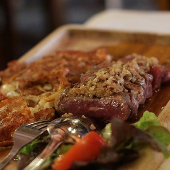 Pièce de bœuf buron du Born - Lozère