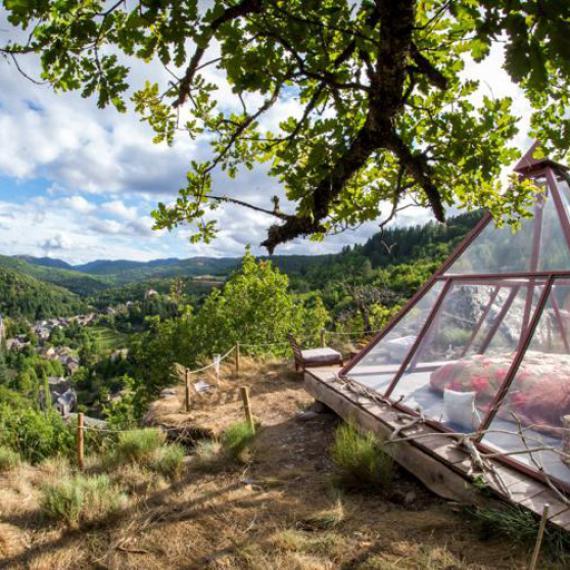 Automne - Ma p'tite cabane en Lozère