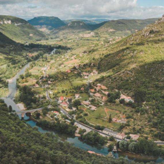 Gorges de la Jonte - Vue panoramique