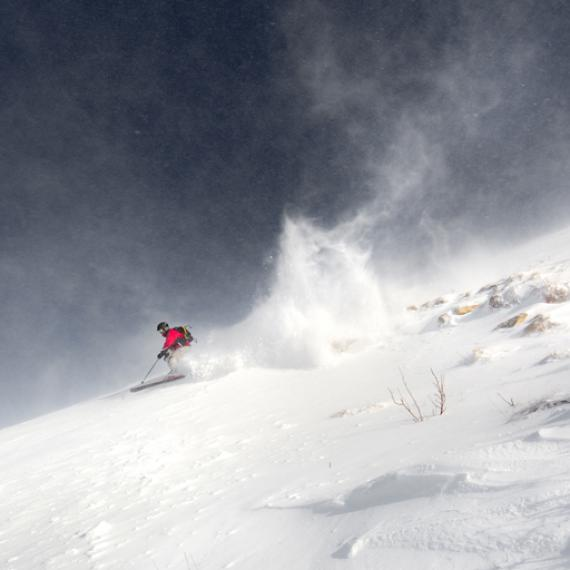 Ski alpin - Hiver autrement - Lozère