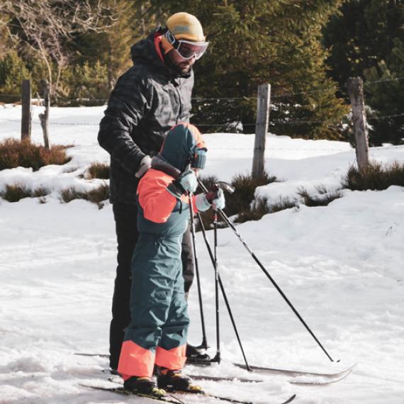 Ski de fond - Hiver autrement - Lozère