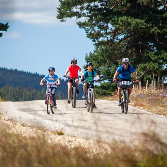 Voyage à vélo en Lozère