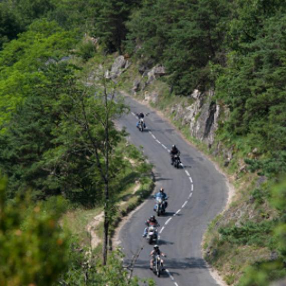 Lozère moto - Itinéraires