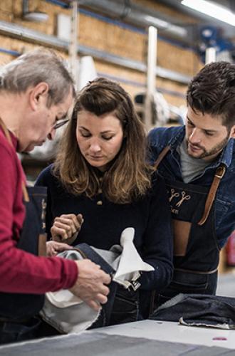 Les coulisses de l'Atelier Tufery : le denim made in Florac !